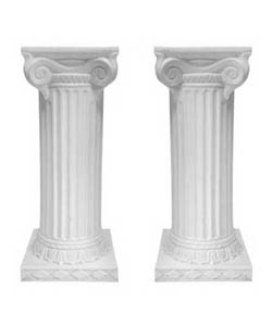 Greek Column Pedestals
