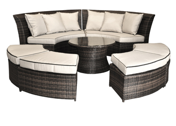 Ashley Outdoor Lounge Set
