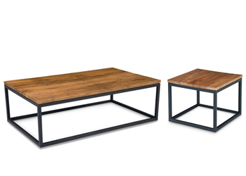 Mountain Teak Coffee and Side Table