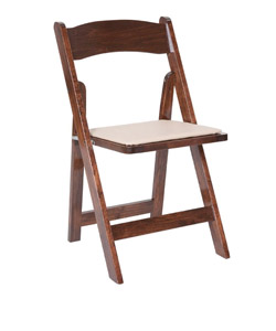 Fruitwood Wood Folding Chair